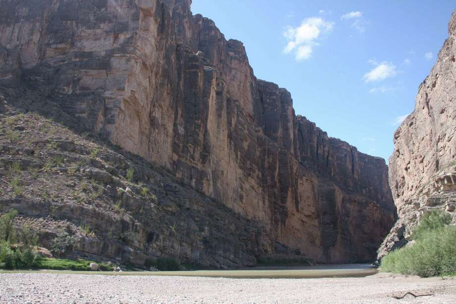 The cliffs of Santa Elena Canyon soar above the Rio Grande in Big Bend National Park, one of the national parks that could be affected by a proposed law making its way through Congress that would allow the Department of Homeland Security to assume control of all federal land within 100 miles of the Mexican and Canadian borders. The bill, called the National Security and Federal Lands Protection Act, would permit the construction of roads, fences and forward operating bases on all federal land in that zone, including national parks.    Tony Freemantle Houston Chronicle 713-362-7004 (o) 281-685-5172 (c) Photo: Tony Freemantle, HOUSTON CHRONICLE / Houston Chronicle