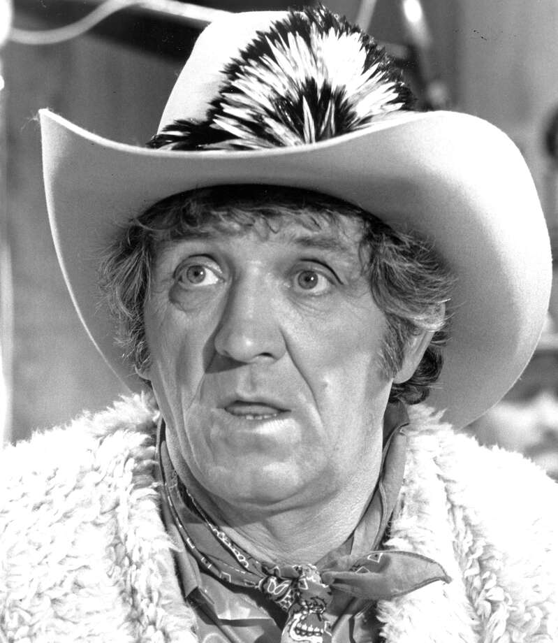 This May 1982 file photo shows George Lindsey in character. Lindsey, who spent nearly 30 years as the grinning Goober Pyle , has died, Sunday, May 6, 2012. He was 83. (AP Photo, file) / AP