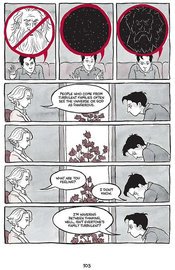 Excerpted from ARE YOU MY MOTHER? by Alison Bechdel. Copyright © 2012 by Alison Bechdel. Used by permission of Houghton Mifflin Harcourt Publishing Company. All rights reserved. Photo: Alison Bechdel