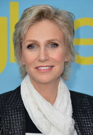 "NORTH HOLLYWOOD, CA - MAY 01:  Actress Jane Lynch arrives to The Academy of Television Arts & Sciences' screening of Fox's ""Glee"" at Leonard Goldenson Theatre on May 1, 2012 in North Hollywood, California.  (Photo by Alberto E. Rodriguez/Getty Images) Photo: Alberto E. Rodriguez, Getty Images"