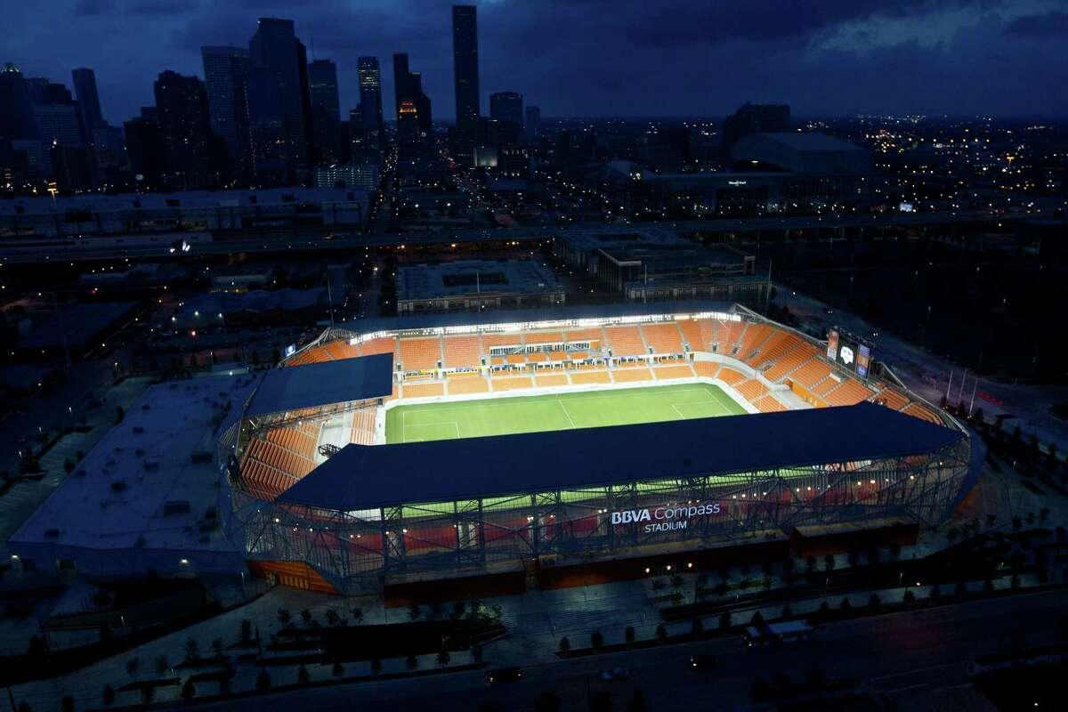 Dynamo stadium Aerial photos Sunday, April 29, 2012, in Houston.