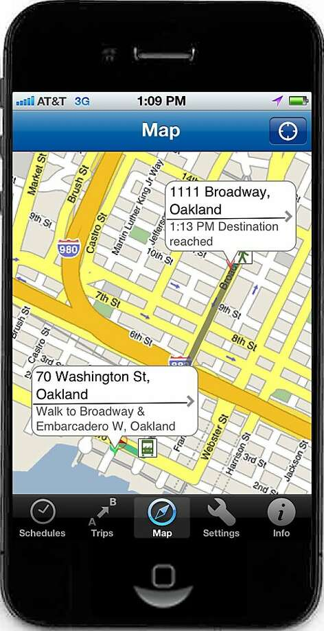 511 Bay Area >> 511 Transit App Lets You Map Out Bay Area Trips Sfgate