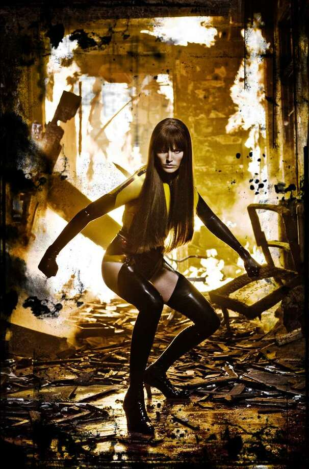 "Versatile actress Malin Akerman appeared as Silk Spectre II in ""Watchmen."" Photo: Warner Bros. Pictures"