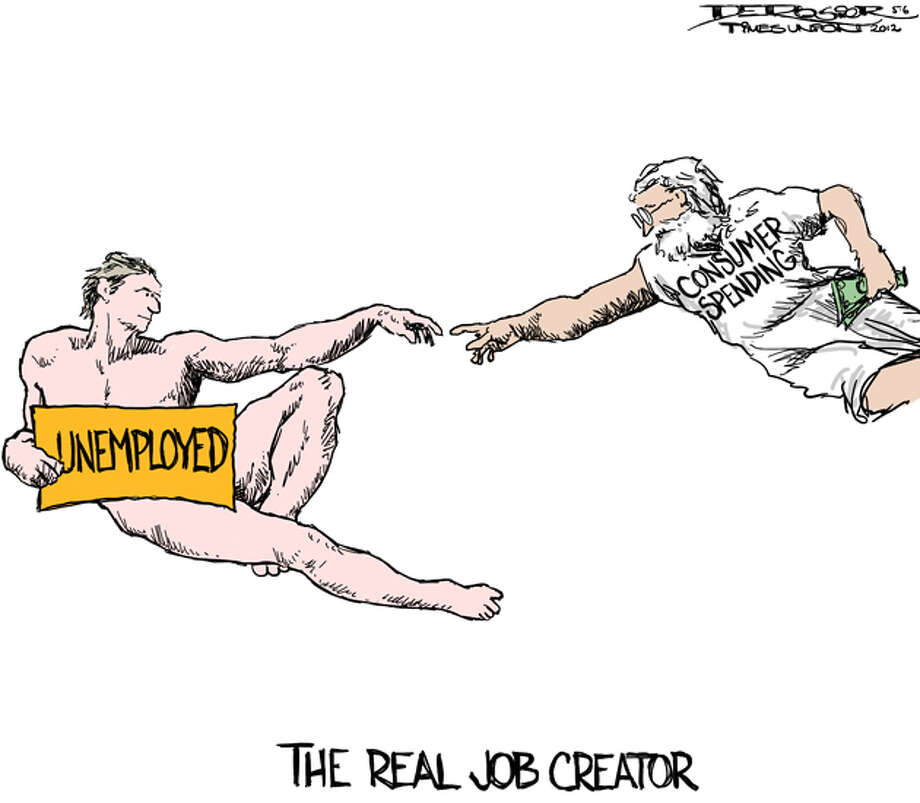 Real job creator is ordinary consumers Photo: John De Rosier, ALL