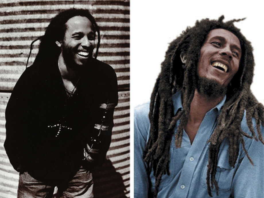 """Ziggy Marley, the eldest son of the late reggae musician Bob Marley, says he feels like a musical envoy for the family: """"It's a continuation of my father's dream.""""  (UMG)"""