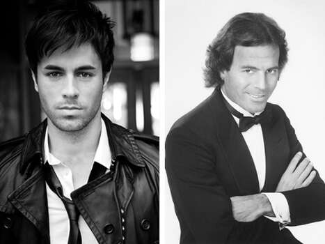 "Enrique Iglesias once said his father, Latin crooner Julio Iglesias, has never been to one of his concerts: ""We don't see each other a lot, barely ever, but I love and respect him more than anything."" (UMG/Sony)"