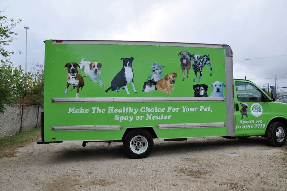 SpaySA Mobile Animal Surgical Hospital (MASH) will host free spay and neuter surgeries Saturday at Highlands High School, 3118 Elgin. Photo: Courtesy Photo