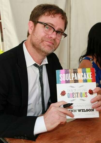 Would The Office's Dwight Schrute have scoffed at Rainn Wilson's book