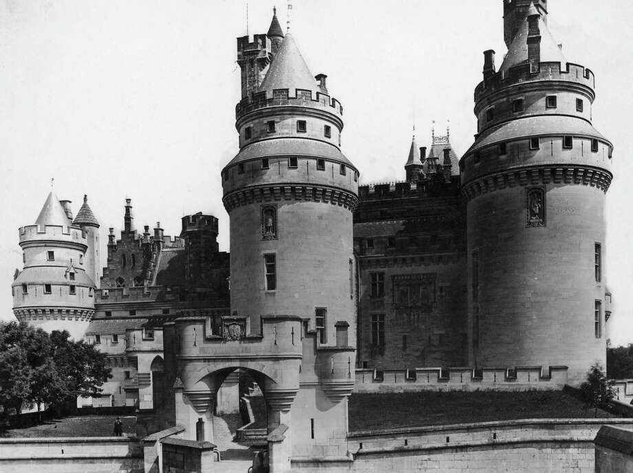 The Chateau de Pierrefonds in the Oise department of France, circa 1890. Photo: Hulton Archive, Getty Images / 2009 Getty Images