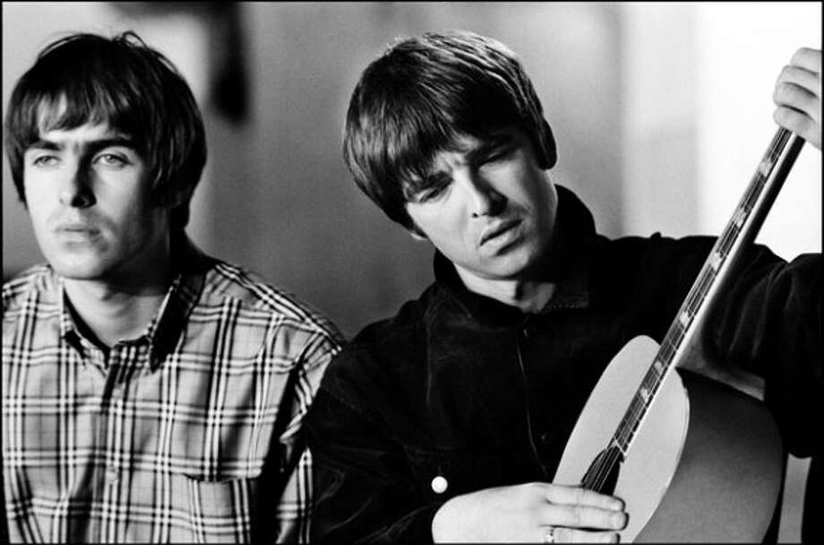 "Oasis: ""He's rude, arrogant, intimidating and lazy."" Noel Gallagher spares a few kind words for brother Liam. (Sony Music)"