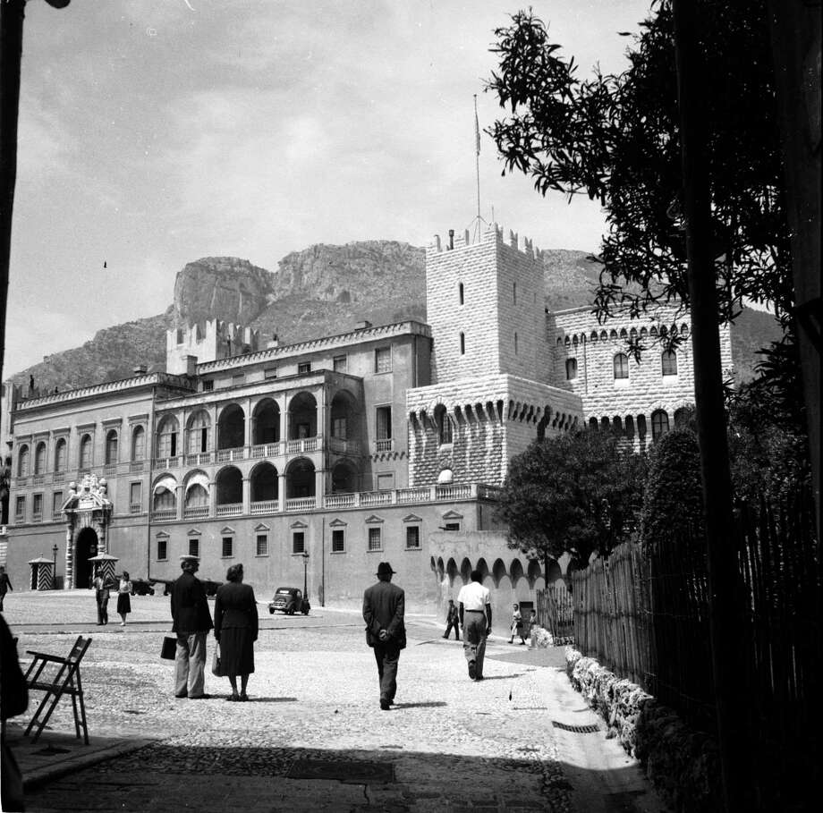 The Monegasque Castle in Monaco, circa 1955. Photo: Three Lions, Getty Images / Hulton Archive