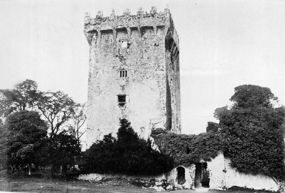Exterior of Blarney Castle in Cork, Ireland, home of the Blarney Stone, circa 1890. Photo: Hulton Archive, Getty Images / Hulton Archive