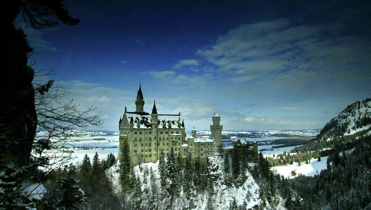 Our most-recent Real Estate Spotlight got us thinking about castles. So we decided to assemble a gallery of real ones. There's none better to start with than the 'fairy tale' castle Neuschwanstein in Schwangau, Bavaria, Germany. The castle, shown here on January 28, 2004, was rebuilt by King Ludwig II of Bavaria and opened to the public seven weeks after his death, in 1886. The pictures go back to early photography at the end of the 19th century.