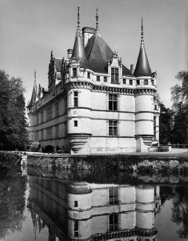 The Chateau Azay-le-Rideau is one of the many elegant castles in France's historic Loire Valley. The chateau is of the Renaissance style and was built between the end of the fourteenth century and 1524. Photo: Alex Watkinson, Getty Images / Hulton Archive