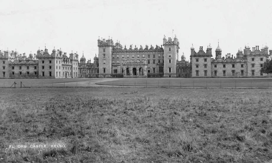 Floors Castle, near Kelso, Roxburgh, Scotland, circa 1940. Photo: Fox Photos, Getty Images / 2011 Getty Images