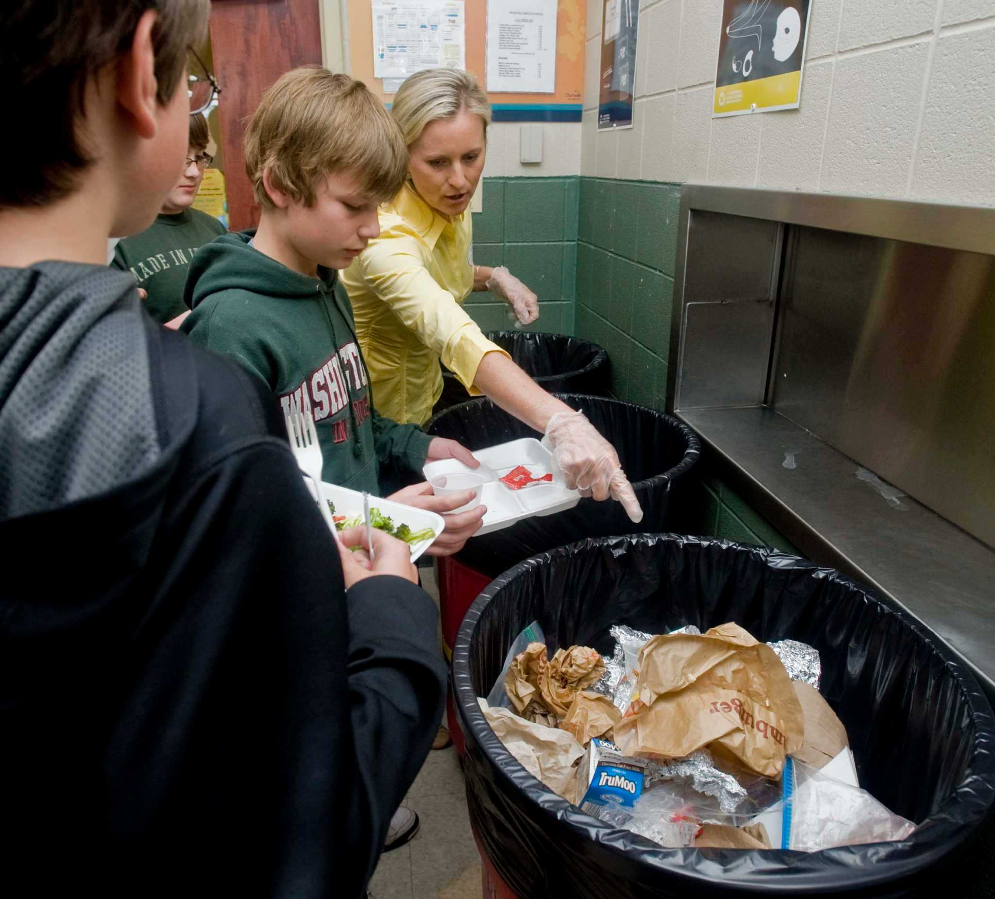 Schools have a full menu of recycling connecticut post for Swanson s fish market