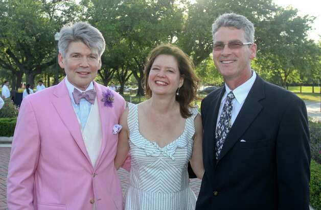 Dr. Steven Hamilton, from left, Doreen Stroller and Tom LeCloux. Photo: Gary Fountain / Copyright 2012 Gary Fountain.