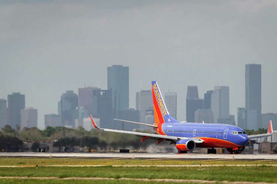 Southwest Airlines has more than 100 daily flights at Hobby Airport, and that number would grow if its proposal to operate international flights from Hobby were approved by City Council. Photo: Michael Paulsen / © 2012 Houston Chronicle