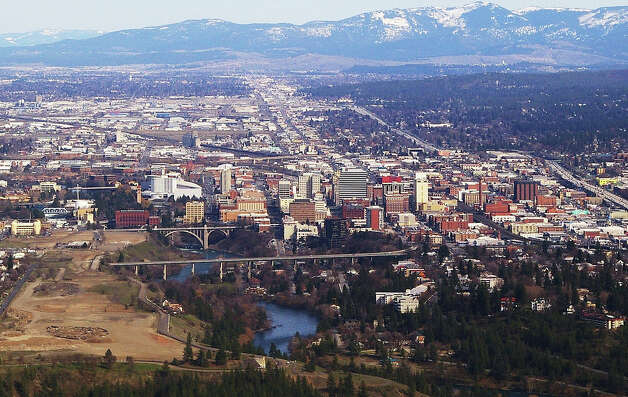 5. Spokane: The Lilac City saw a total crime rate of 78.5 crimes reported per 1,000 residents, a 1 percent decrease. Its violent crime rate remained high at 6.2 violent crimes reported per 1,000 residents. Photo by Ron Reiring via flickr. Photo: As Credited