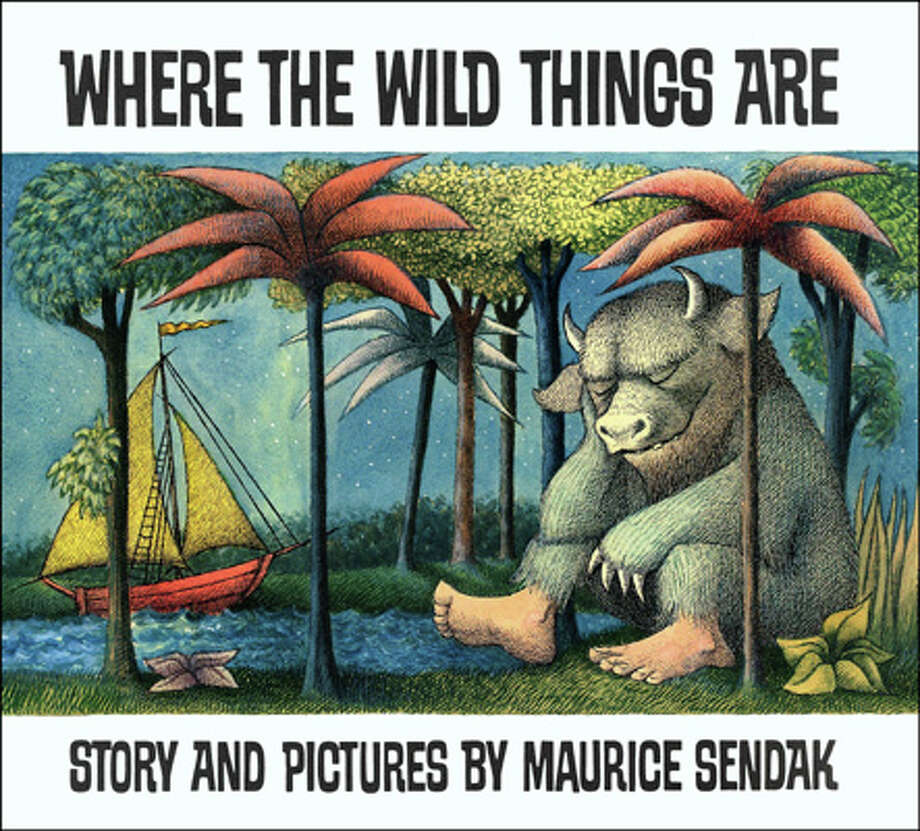 "In this book cover image released by HarperCollins, ""Where the Wild Things Are,"" by Maurice Sendak, is shown. Sendak died Tuesday, May 8, 2012 at Danbury Hospital in Danbury, Conn. He was 83. Photo: Anonymous, Associated Press / AP2009"