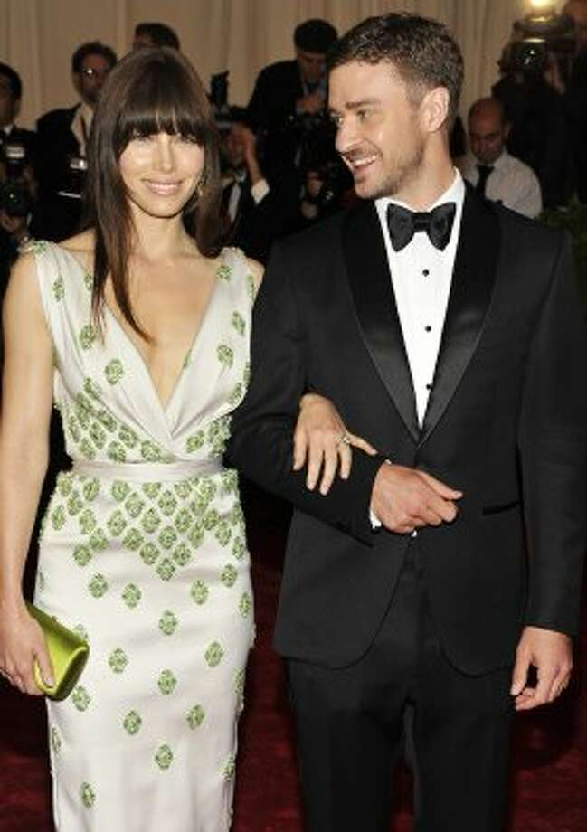 Best:Justin Timberlake and Jessica Biel