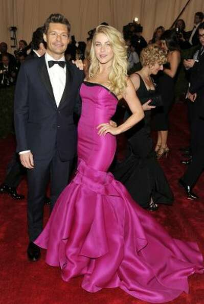 Ryan Seacrest and Julianne Hough arrive at the Metropolitan Museum of Art Costume Institute gala ben