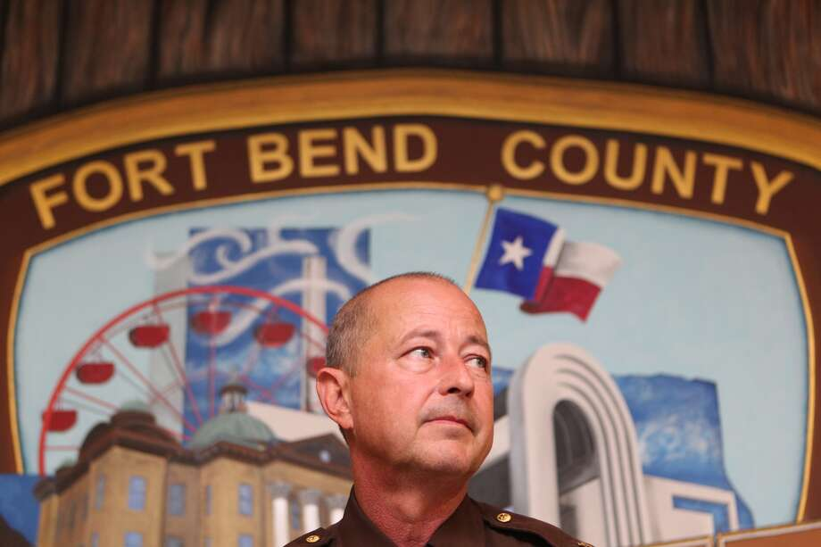 Fort Bend County Sheriff's Chief Deputy Craig Brady addressed the media during a press conference Tuesday morning. Photo: Johnny Hanson, Houston Chronicle
