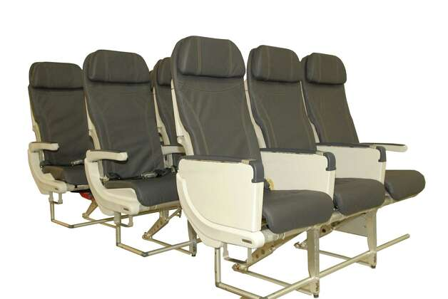 Alaska Airlines' new Recaro economy class seats, which will go on new Boeing 737-900ER aircraft. Photo: Alaska Airlines