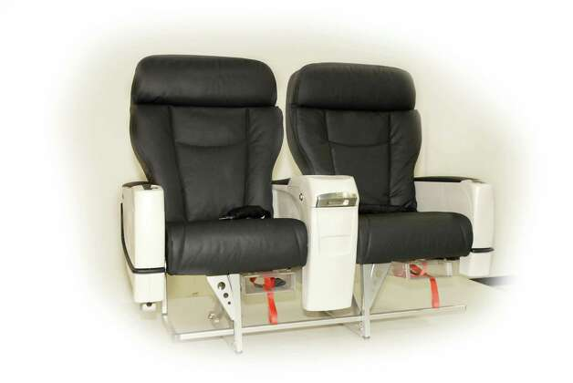 Alaska Airlines' new Recaro first class seats, which will go on new Boeing 737-900ER aircraft. Photo: Alaska Airlines