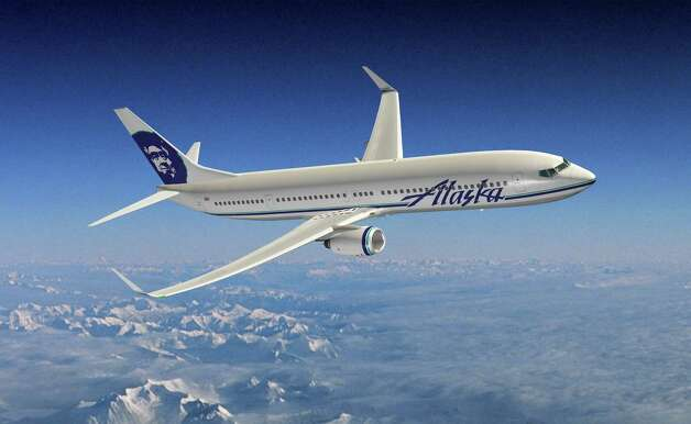 A depiction of a future Alaska Airlines Boeing 737-900ER. Photo: Boeing Graphics / Copyright © 2011 Boeing. All Rights Reserved.