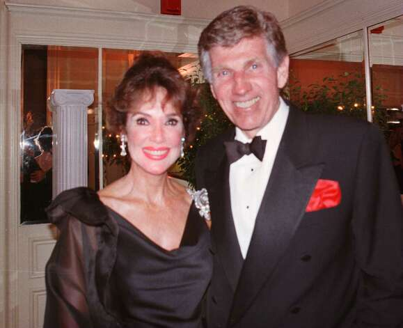 Guests at Marylou Whitney's 1997 gala are actress Mary Ann Mobley and actor Gary Collins. (Times Union archive) Photo: MICHELLE SOLOMON / ALBANY TIMES UNION