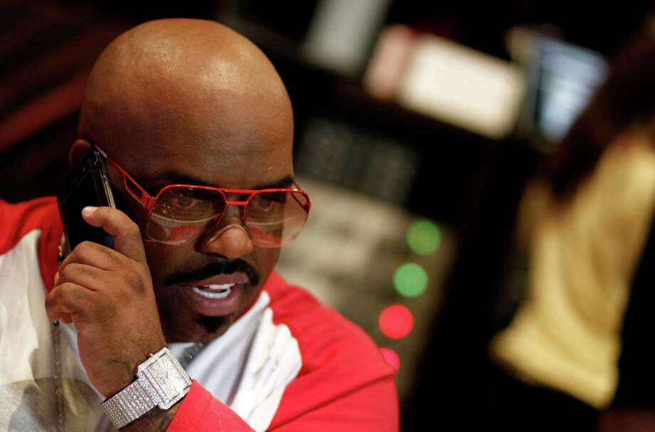 """Cee-Lo Greenmay be bald, but he's still styling in his eclectic outfits and variety of sunglasses. You may have heard him on the radio with his top hit """"Forget You"""", or seen him on NBC scoping out new talent on """"The Voice.""""  Photo: Matt Sayles, STF / AP"""