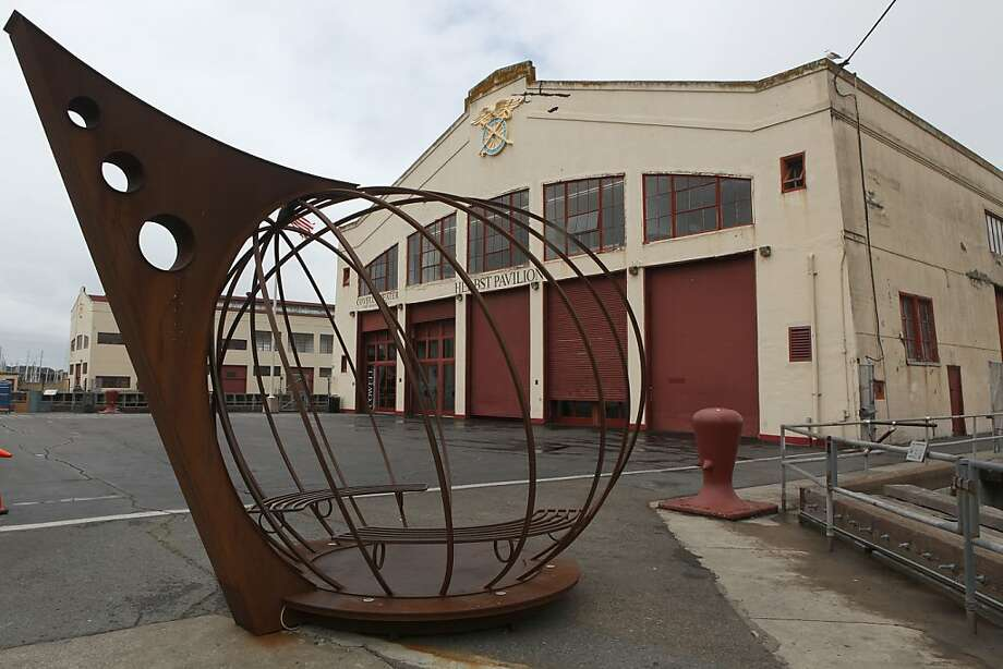 A sculpture by Jefferson Mack at Fort Mason center in San Francisco, Calif., on Wednesday, May 2, 2012. Photo: Liz Hafalia, The Chronicle
