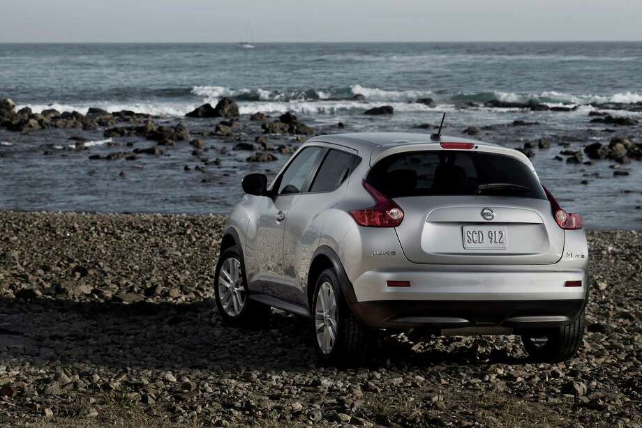 The 2012 Nissan Juke is lighter than Nissan's Rogue crossover but has a stronger engine. Photo: HANDOUT, MCT / MCT