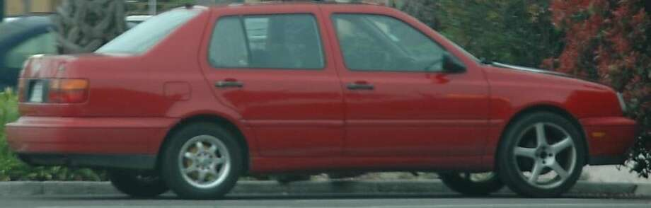 A Volkswagen Jetta that authorities say is linked to the March 16, 2012, disappearance of 15-year-old Sierra LaMar. Photo: Santa Clara County Sheriff