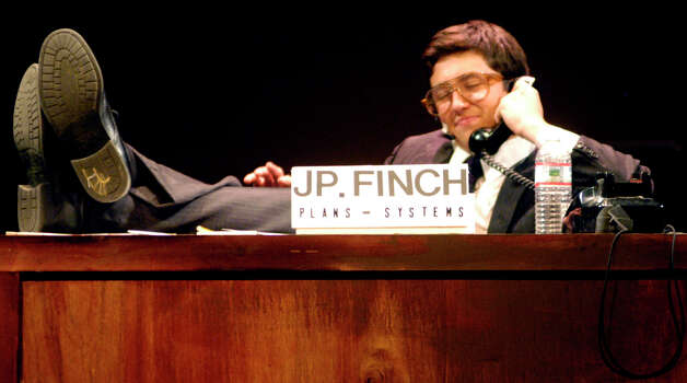 J Pierpont Finch J  Pierrepont Finch  portrayed