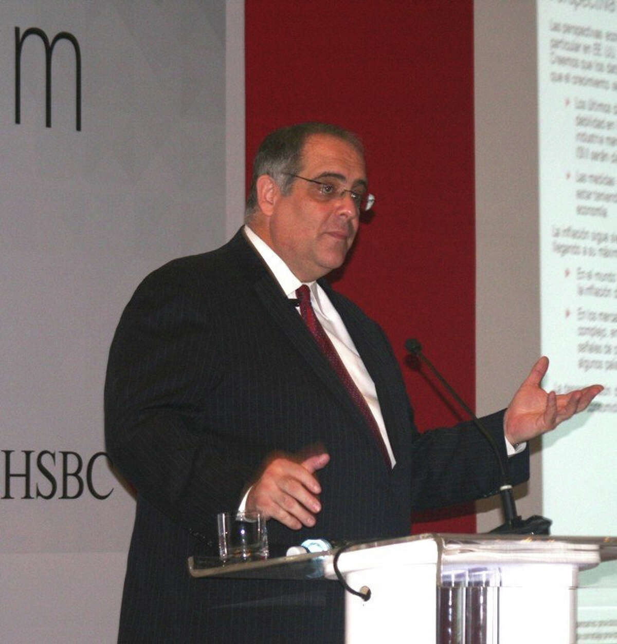 José A. Rasco, chief investment strategist at HSBC Private Bank Americas, will address the Senior Men's Club of New Canaan Friday, May 18, 2012.