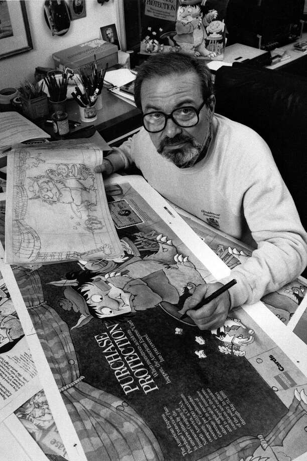 Children's author and artist Maurice Sendak is best known for 'Where the Wild Things Are.' He lived in Danbury before his death in 2012. Photo: AP