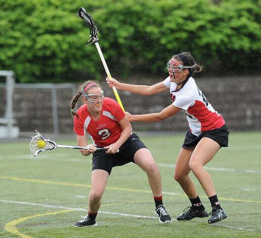 Girls lacrosse shot
