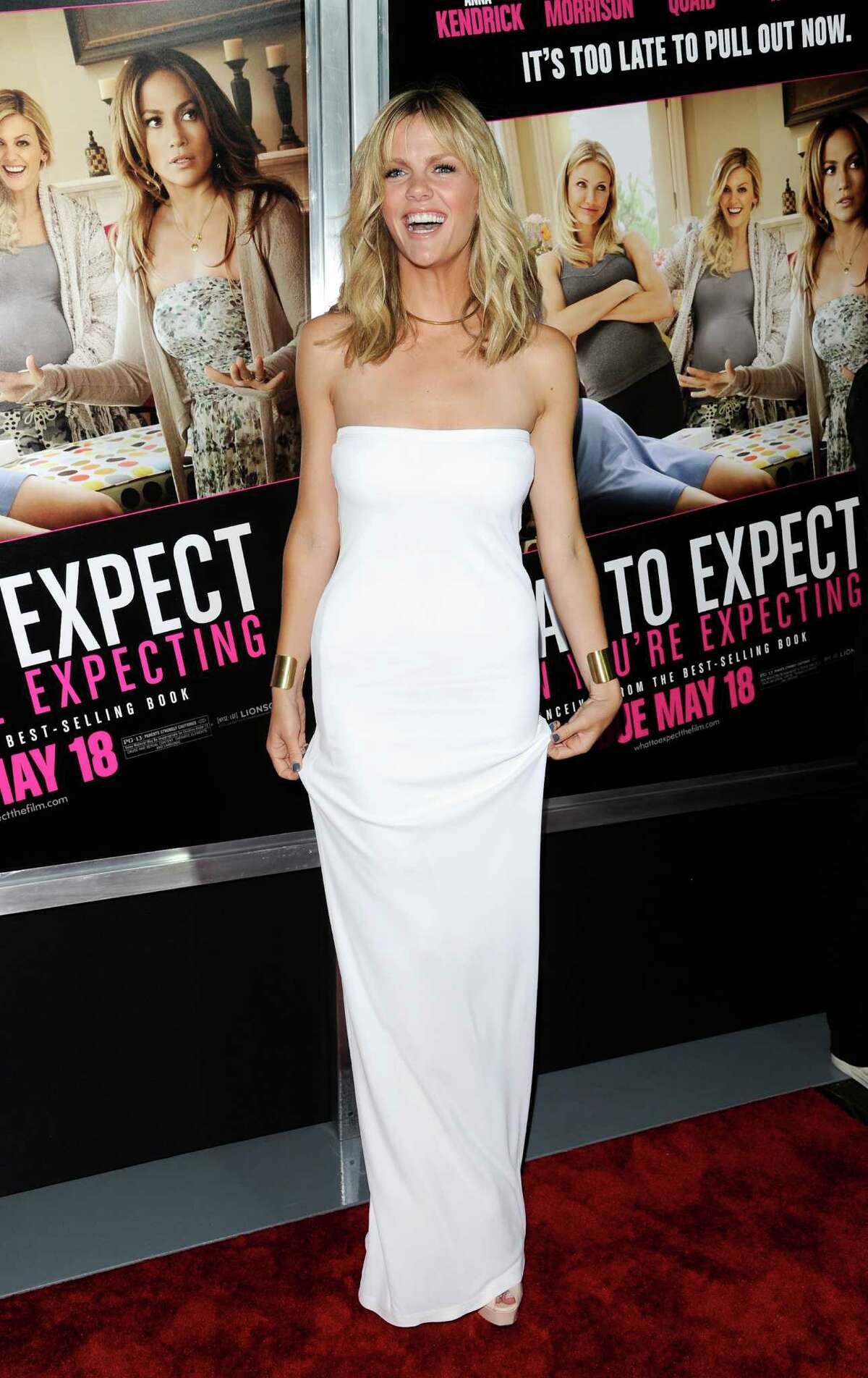 Actress Brooklyn Decker attends the premiere of