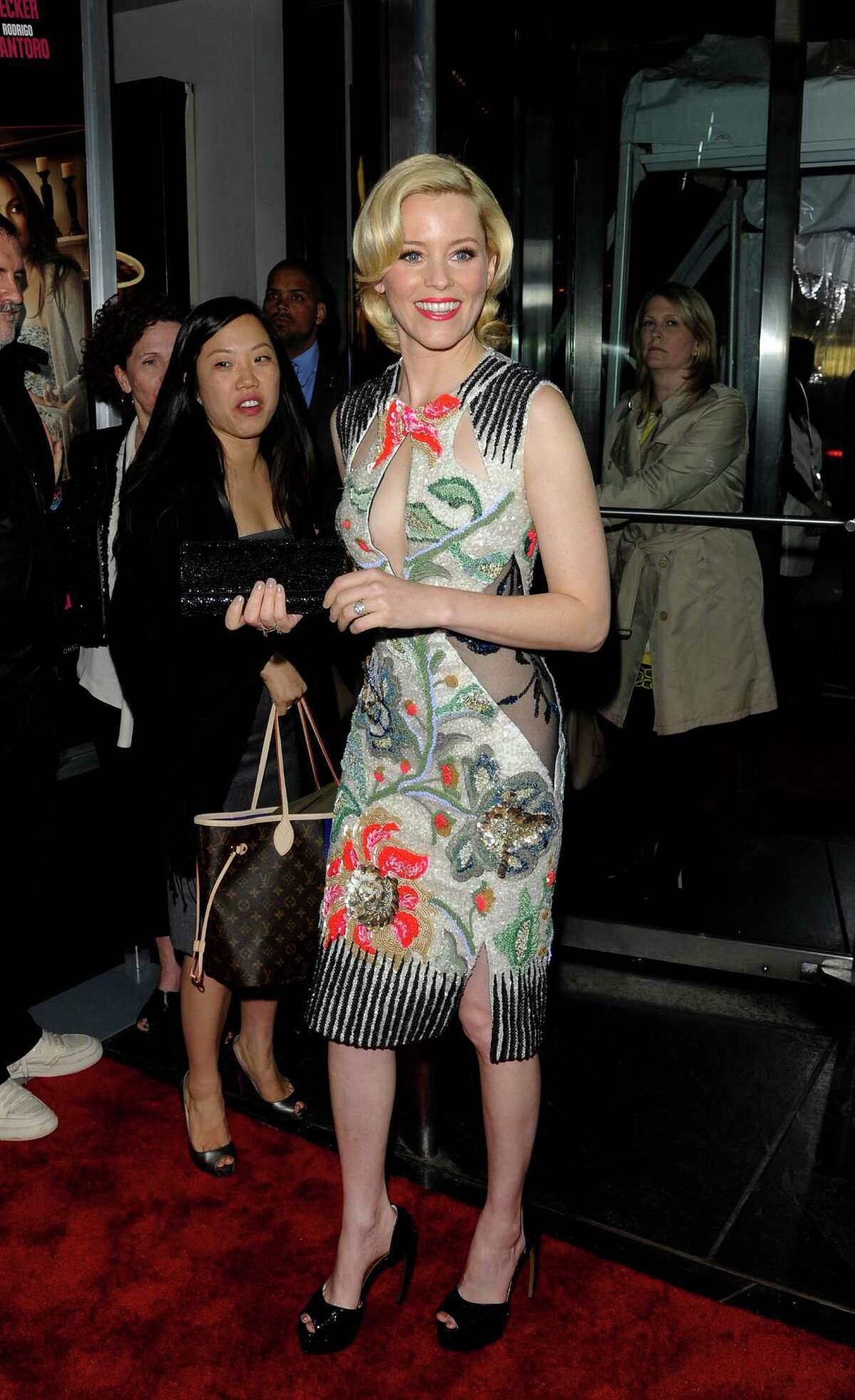 Actress Elizabeth Banks attends the premiere of