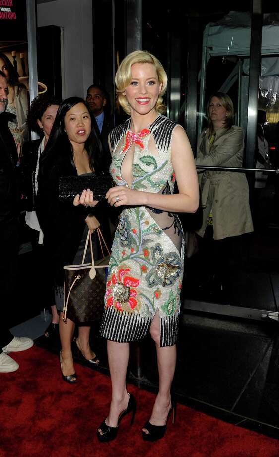 """Actress Elizabeth Banks attends the premiere of """"What To Expect When You're Expecting"""" at the AMC Lincoln Square Theater, Tuesday, May 8, 2012 in New York. Photo: Evan Agostini, AP / AGOEV"""