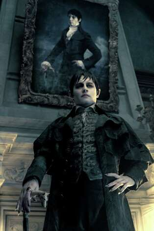 "In this film image released by Warner Bros., Johnny Depp portrays Barnabas Collins in a scene from ""Dark Shadows."" Photo: AP"