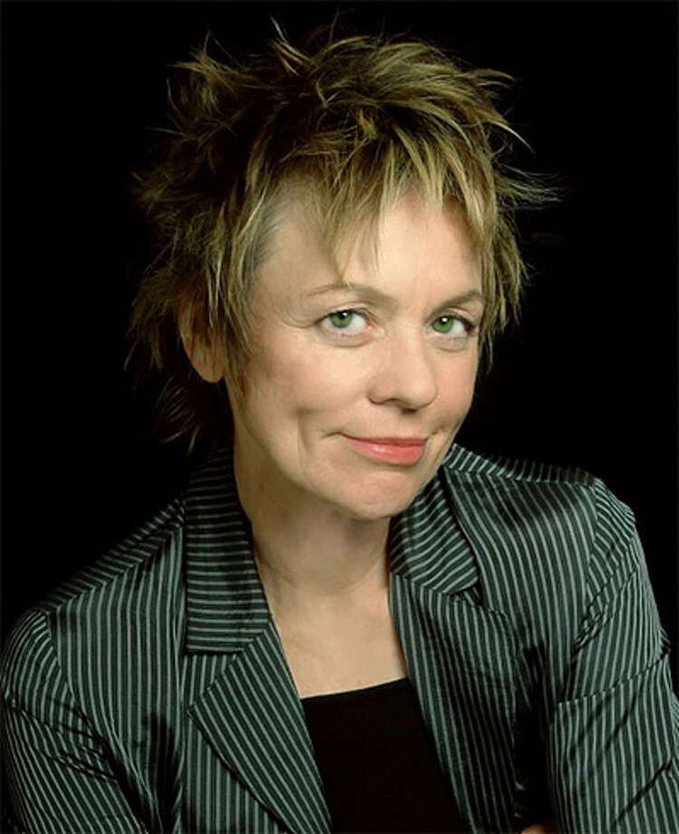 Artist and musician Laurie Anderson