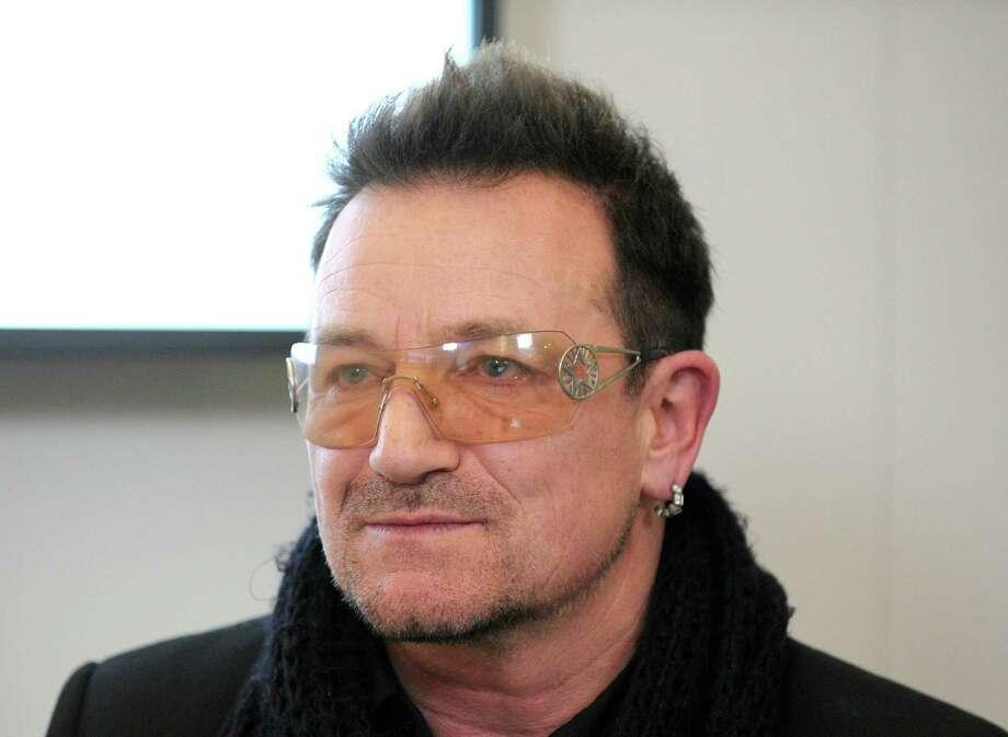 Bono Photo: Eric Piermont / AFP