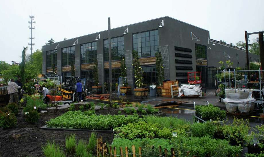 The Terrain home and garden store at 561 Post Road East is scheduled to open on Friday, May 11. Photo: Paul Schott / Westport News
