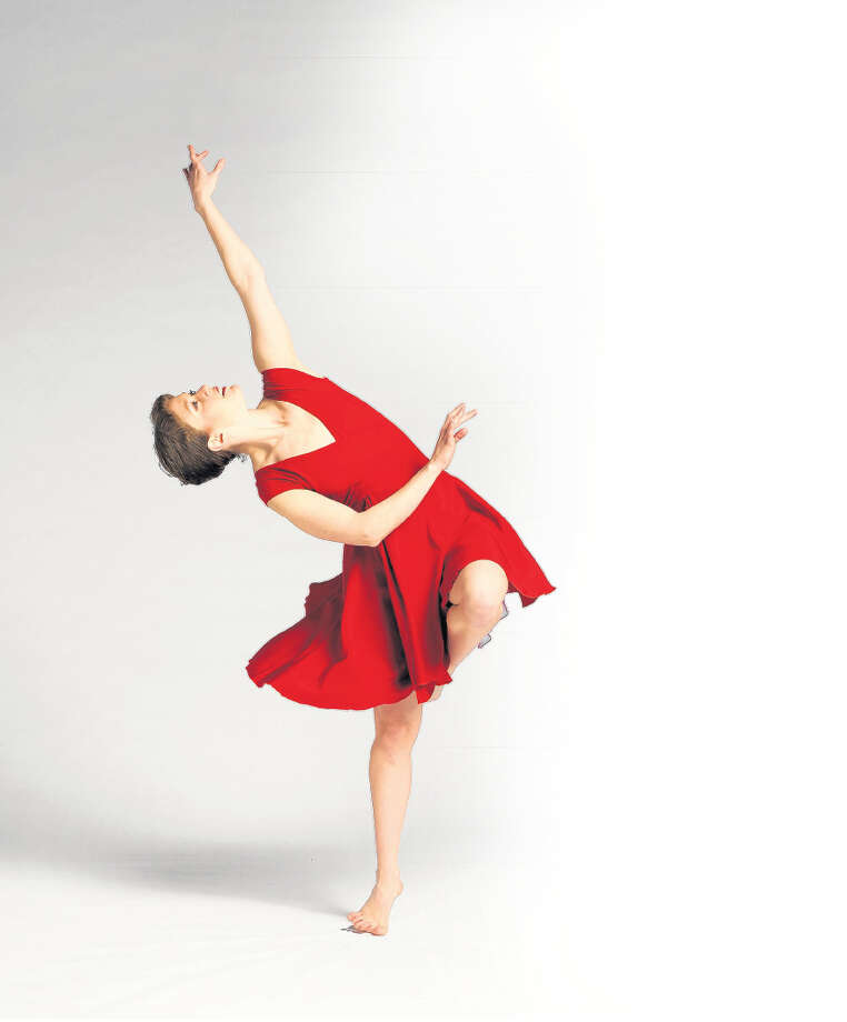 Laura Teeter of the Ellen Sinopoli Dance Company. (Gary Gold) Photo: GOLD