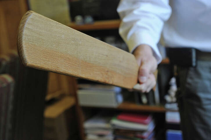 While varying methods of punishment are practiced at every Southeast Texas school, the paddle still used. Parents are generally notified before corporal punishment is used on their child.   Photo taken Friday, May 4, 2012 Guiseppe Barranco/The Enterprise