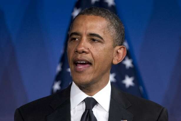 President Barack Obama announced that he supports same-sex marriage on May 9, 2012, becoming the first U.S. president to do so.  (ASSOCIATED PRESS)