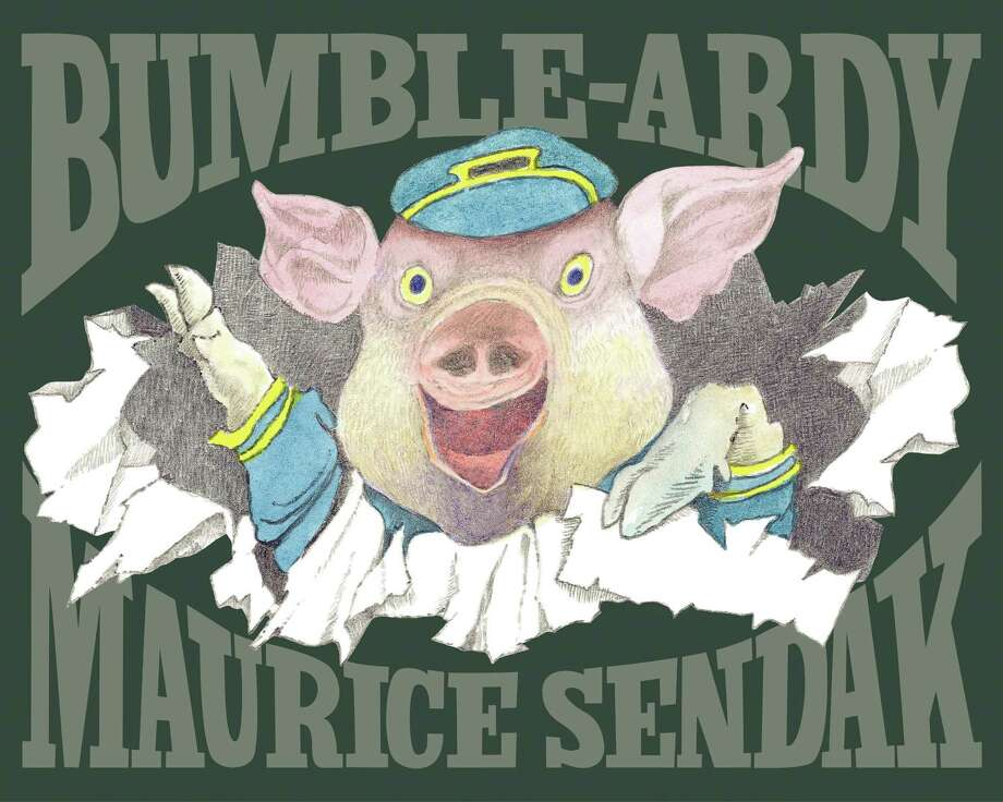 """In this book cover image released by HarperCollins, children's book """"Bumble Ardy,"""" by Maurice Sendak, is shown. Sendak, author and illustrator of popular children's books died, Tuesday, May 8, 2012 at Danbury Hospital in Danbury, Conn. He was 83.  (AP Photo/HarperCollins, Copyright © 2011 by Maurice Sendak)"""